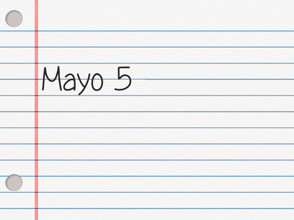 MAYO 5.